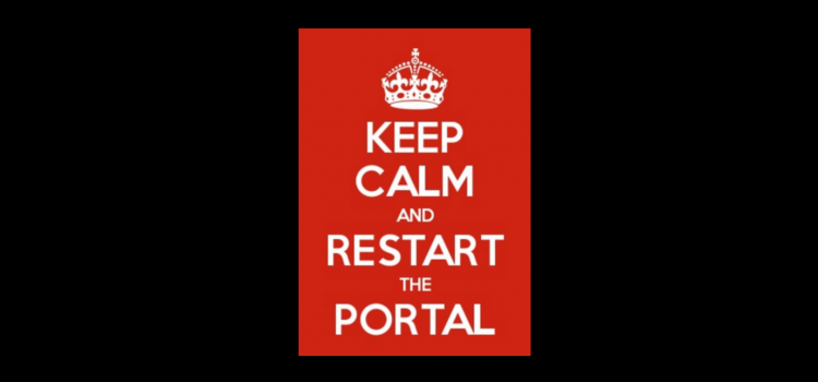 [KB] Dynamics 365 Portal issues? Try restarting the portal