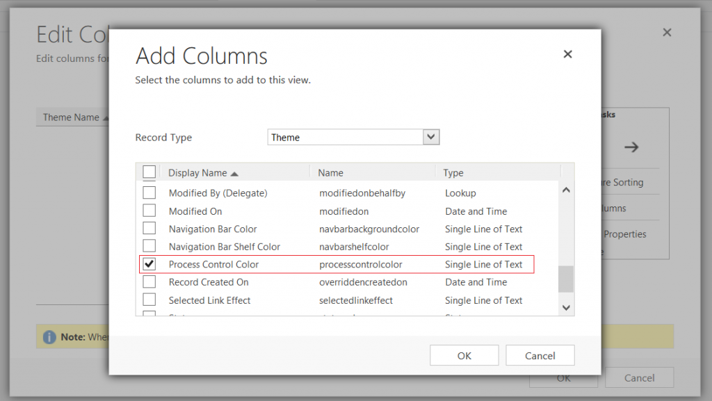Dynamics CRM 2016 - Theme - Process Control Color - Advanced Find