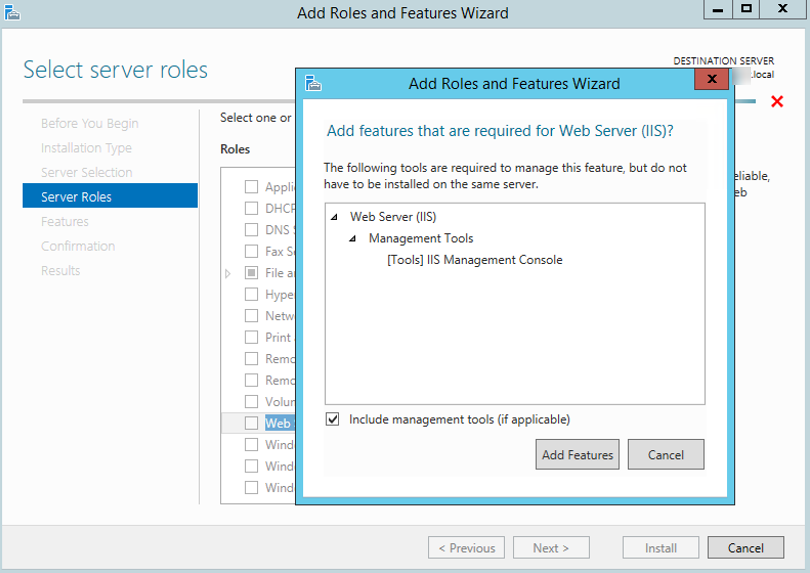 Configure Web Server Role - Adxstudio 5