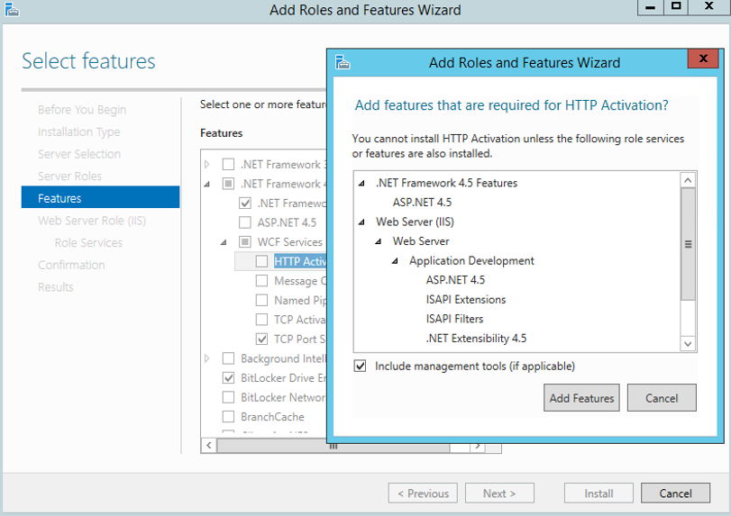 Configure Web Server Role - Adxstudio 6