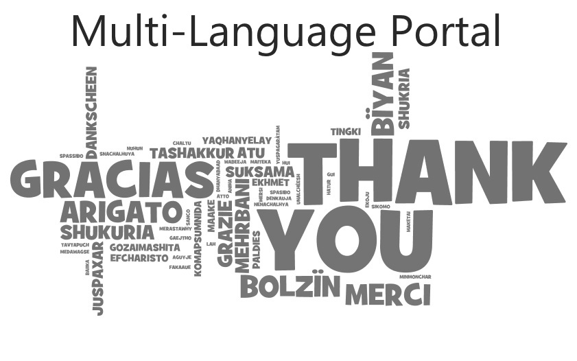 Multi Language Portal