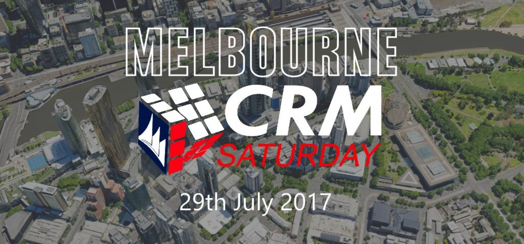 Melbourne - CRM Saturday