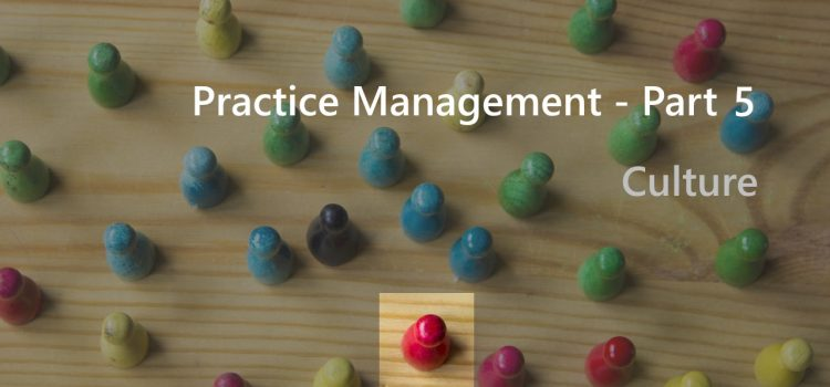 Practice Management – Part 5 – Culture
