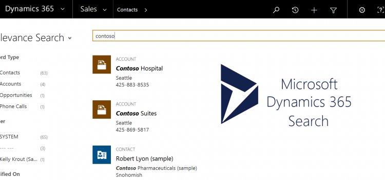 [How To] Configure searchable fields for Global, Quick Find, and Relevance Search in Dynamics 365